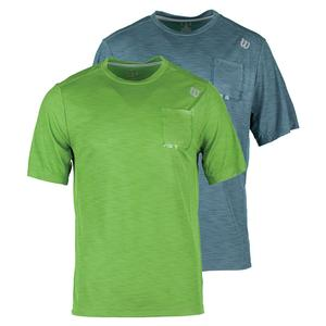 WILSON MENS TEXTURED TENNIS CREW