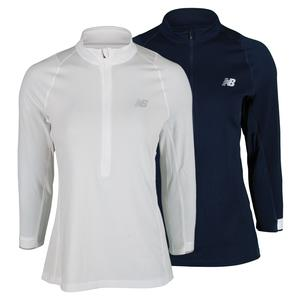 NEW BALANCE WOMENS PERFORMANCE 3/4 SLEEVE TNS TOP