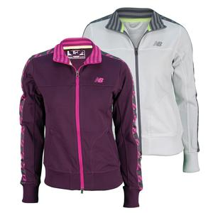 NEW BALANCE WOMENS TOURNAMENT TENNIS JACKET