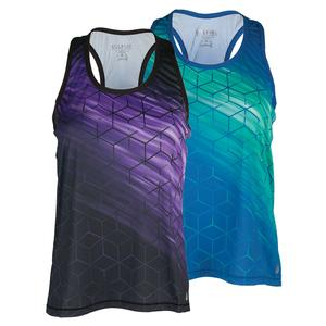 SOLFIRE WOMENS STRETCH YOUR LIMITS TENNIS TANK