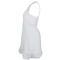SOFIBELLA WOMENS TANK TENNIS DRESS WHITE