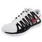 NIKE MENS ZOOM VAPOR 9 TOUR SHOES WH/BK OUTTER SIDE