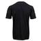 NIKE MENS QT FLAME PACK TENNIS TEE BLACK BACK