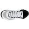PRINCE MENS T22 MID TENNIS SHOE WHITE/BLACK