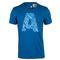 adidas MENS A GRAPHIC TENNIS TEE EQT BLUE