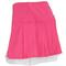 LUCKY IN LOVE WOMENS PLEAT LAYER TENNIS SKIRT