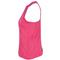 LUCKY IN LOVE WOMENS HIGH NECK TENNIS TANK SHOCKING PK