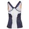 LUCKY IN LOVE  WOMENS HIGH NECK TENNIS CAMI WH/CON