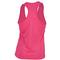 LUCKY IN LOVE WOMENS TENNIS V-TANK SHOCKING PINK