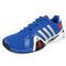 ADIDAS MENS BARRICADE 8 SHOES BLUE/SILVER/RED OUTTER SIDE