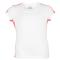 FILA GIRLS BASELINE SHORT SLV TENNIS TOP FRONT SIDE