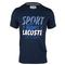 lacoste  MENS SHORT SLV TECH CROC GRAPHIC TNS TEE