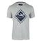 LACOSTE MENS SHORT SLV FAIR PLAY GRAPHIC TNS TEE