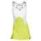 STELLA MCCARTNEY WOMENS STELLA BARRICADE DRESS YL/WH