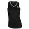 adidas WOMENS CLUB TENNIS TANK BLACK