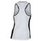 ADIDAS WOMENS COURT TENNIS TANK WHITE/BLACK BACK