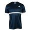 ADIDAS MENS COURT TENNIS TEE COLL NAVY/WHT FRONT