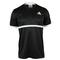 ADIDAS MENS COURT TENNIS TEE BLACK/WHITE FRONT