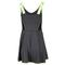 Lucky in Love WOMENS GODDESS TENNIS DRESS CHARCOAL