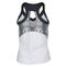 Bolle WOMENS SERPENTINE RCRBK TNS TANK WH/GR Back
