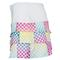 Lucky in Love WOMENS SCALLOP TENNIS SKIRT Side