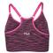 Fila WOMENS SEAMLESS SPACE DYE CAMI BRA pink back
