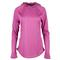 Fila WOMENS PURE HEATHER HOODY pink front