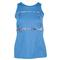 Lija WOMENS FIRST LAP TENNIS TANK HTHR DP BL front