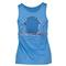 Lija WOMENS FIRST LAP TENNIS TANK HTHR DP BL back